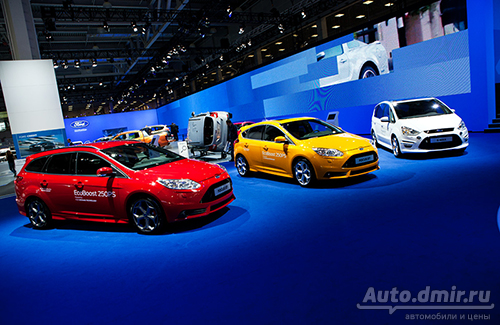 Ford, Nissan, Renault, Kia, Mitsubishi и SsangYoung на ММАС 2012