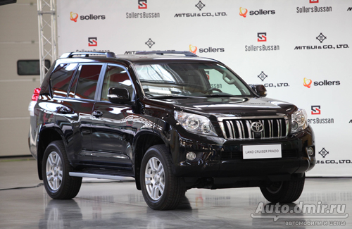На Дальнем Востоке началось производство автомобилей Toyota Land Cruiser Prado