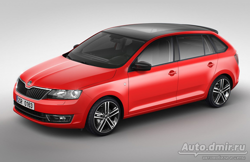 Cтарт производства Skoda Rapid Spaceback