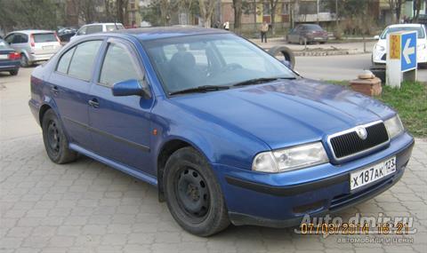 skoda octavia из россии 1999 -2000