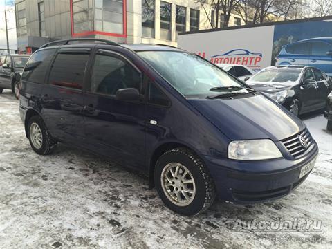 Купить ? Volkswagen Sharan (Фольксваген Шаран)  2000 г.в. в России по цене  240000 руб. – Autodmir.ru (Автомобили и Цены)