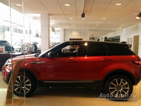 Техническое обслуживание (ТО) Range Rover Evoque