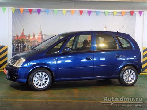 Купить ? Opel Meriva (Опель Мерива)  2008 г.в. в России по цене  275000 руб. – Autodmir.ru (Автомобили и Цены)