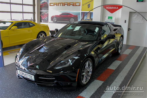 Новый Chevrolet Corvette Stingray в Автомире!