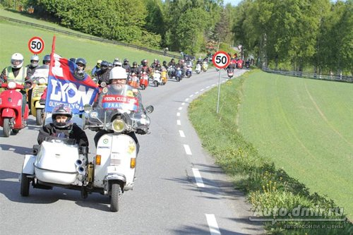 Vespa World Days 2011