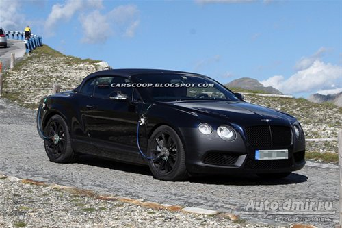 Bentley Continental GTC Speed 2012 года