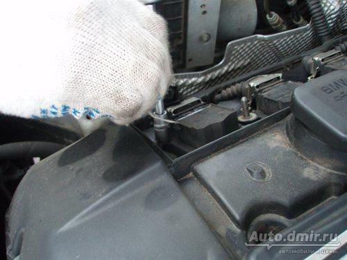 Замена свечей зажигания на моторе М54 BMW E39.