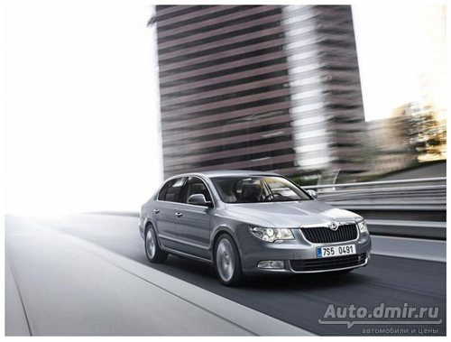 ŠKODA Superb. Комфорт включен!