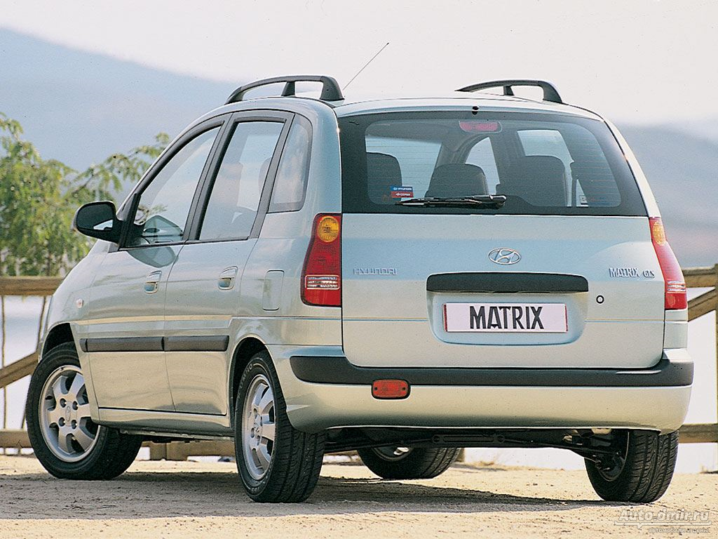 hyundai matrix фотогалерея