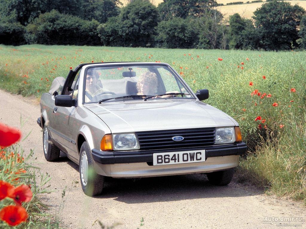 ходовая на ford escort 1983