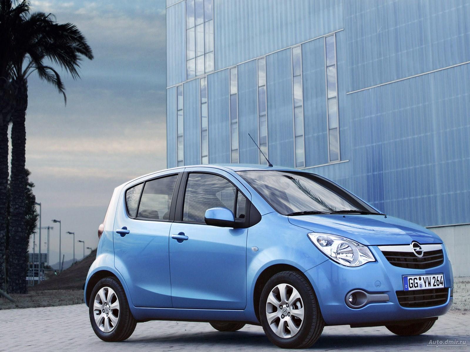 Opel Agila - расход топлива Опель Агила, клиренс, габариты ...