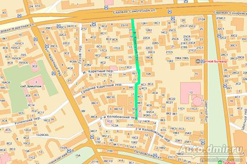 большой каретный переулок 5 метро Мирового