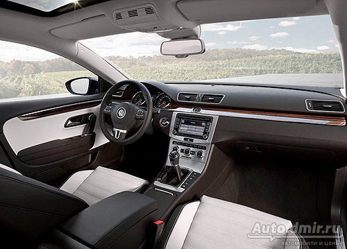 Стартовали прием заказов на Volkswagen Passat CC 2012